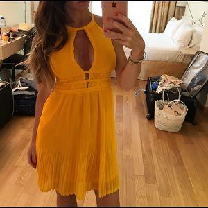 H&M Orange Yellowish Dress